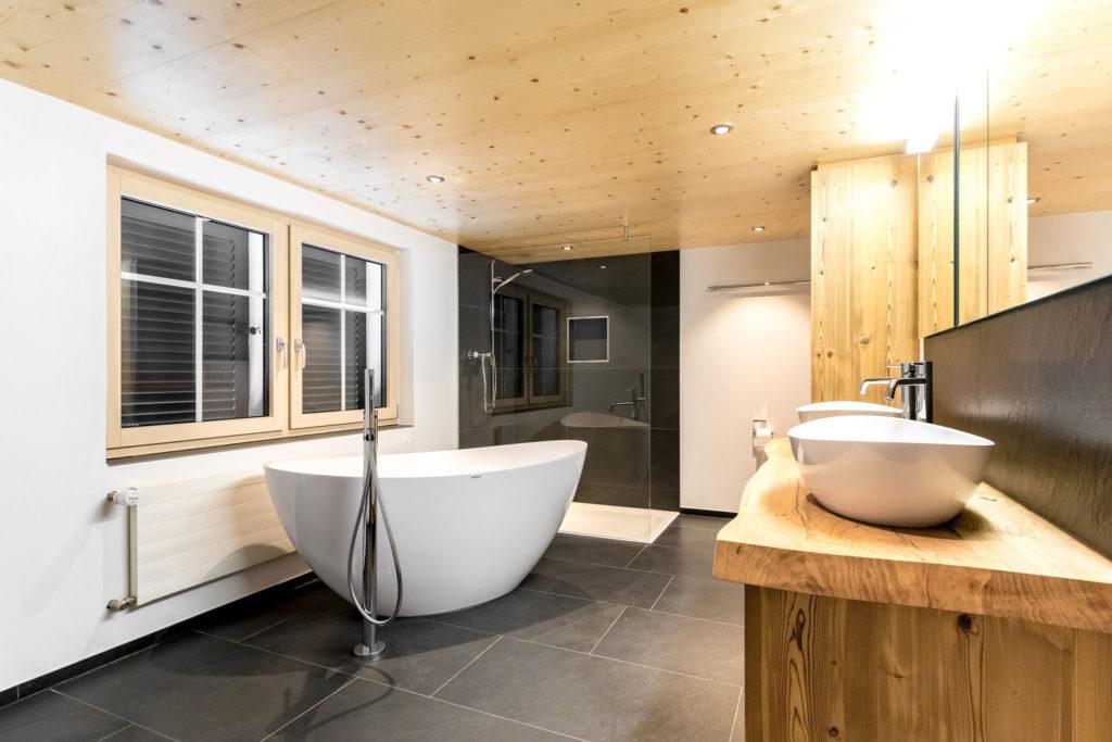 Badezimmer Umbau Mit Freistehender Badewanne