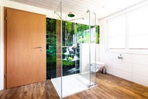 Bedruckte WPS Platte Rückwand Dusche